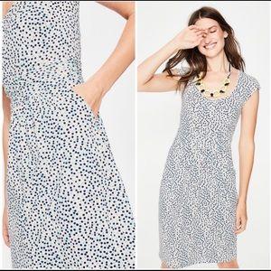 Boden Margot Jersey Dress with Pockets Size 10L